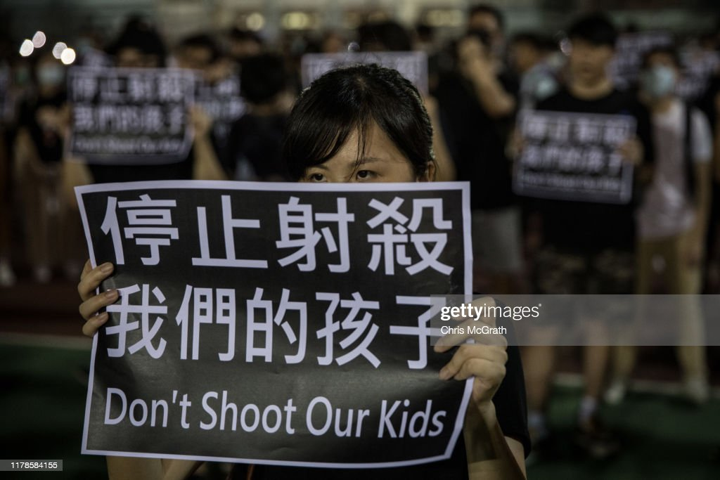 Anti-Government Protest Movement in Hong Kong : ニュース写真
