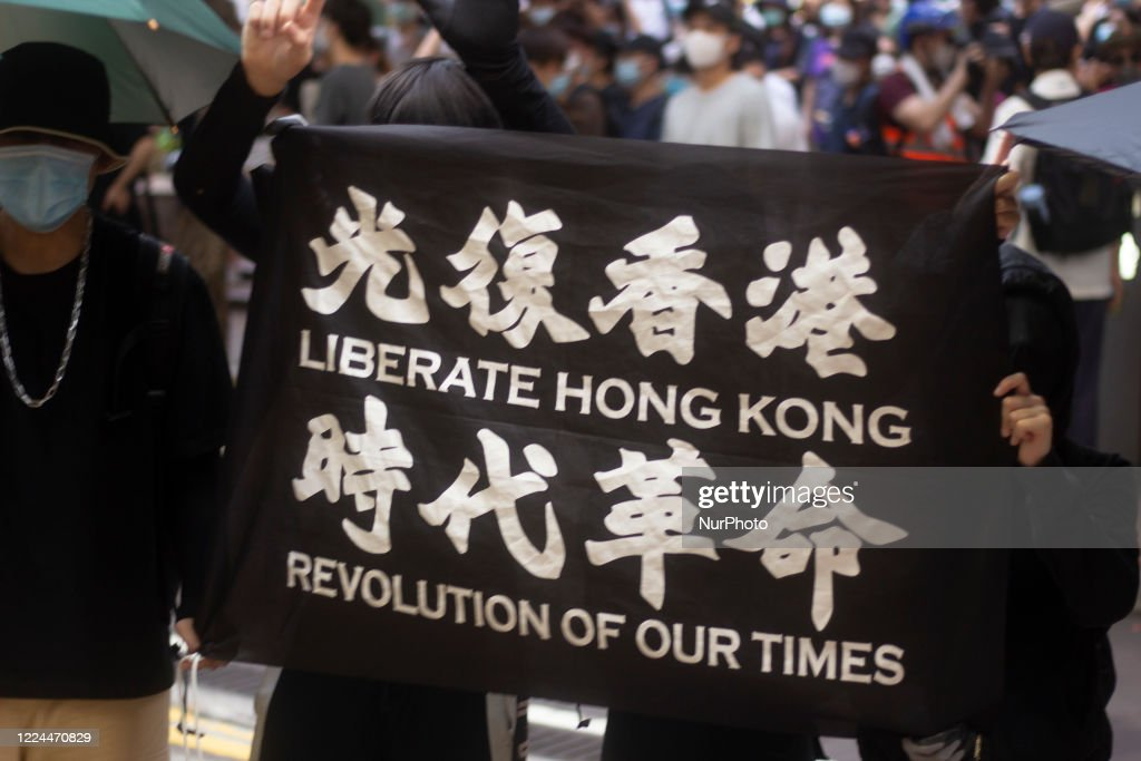 Anti-Government Protests In Hong Kong : Nieuwsfoto's