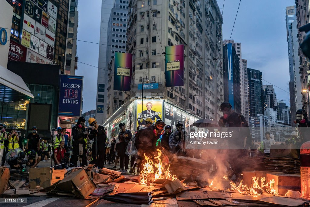 Anti-Government Protests Continue in Hong Kong : News Photo