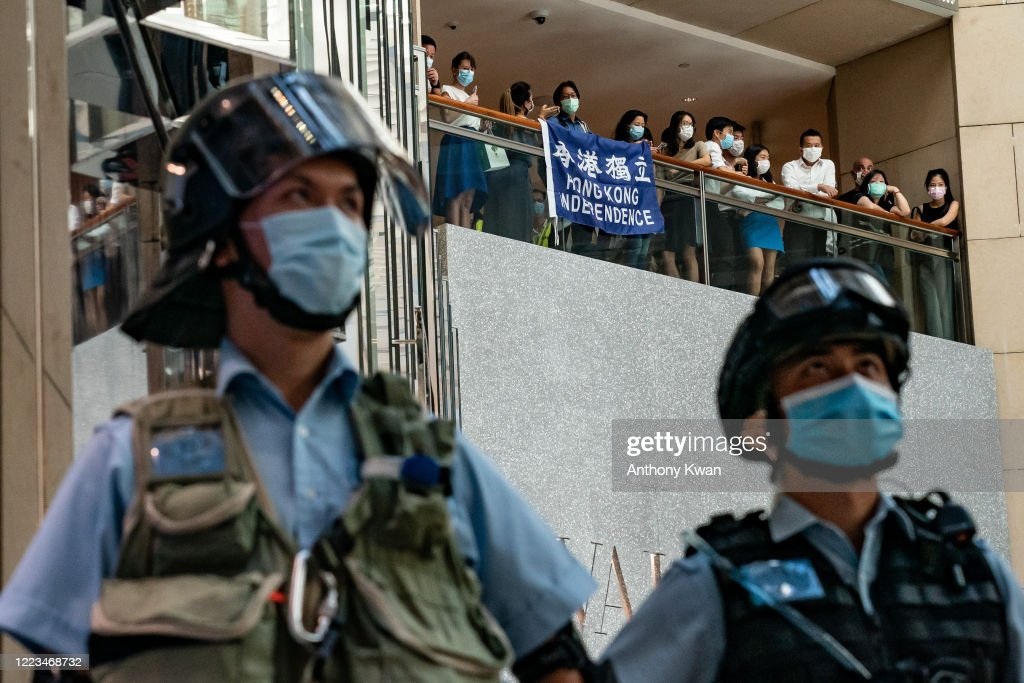 Hong Kong Marks One Year Since The Start Of Pro-Democracy Protests : News Photo
