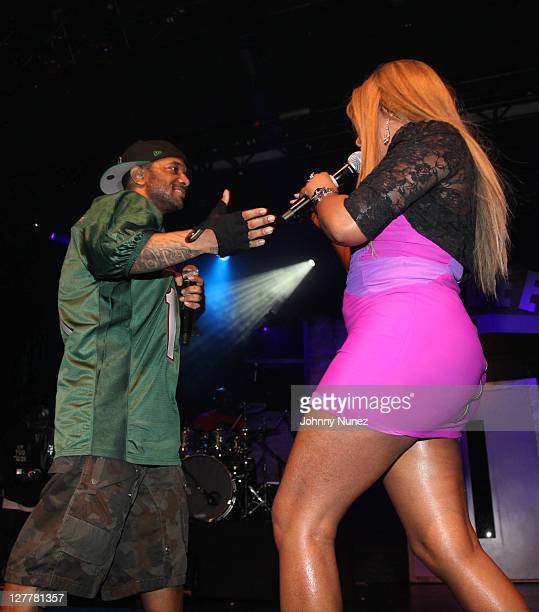 Prodigy and Lil' Kim performs at Best Buy Theater on May 12 2011 in New York New York