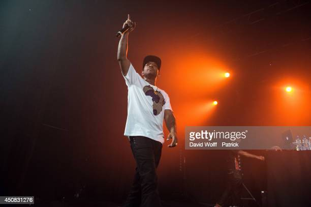 Prodigy from Mobb Deep performs at Le Trianon on June 18 2014 in Paris France