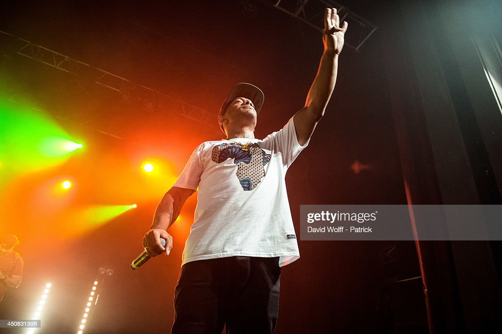 Prodigy from Mobb Deep performs at Le Trianon on June 18, 2014 in Paris, France.