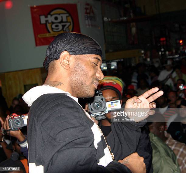 Prodigy of Mobb Deep during Alchemist Album Realease Party and Concert September 22 2004 at SOB in New York City New York United States