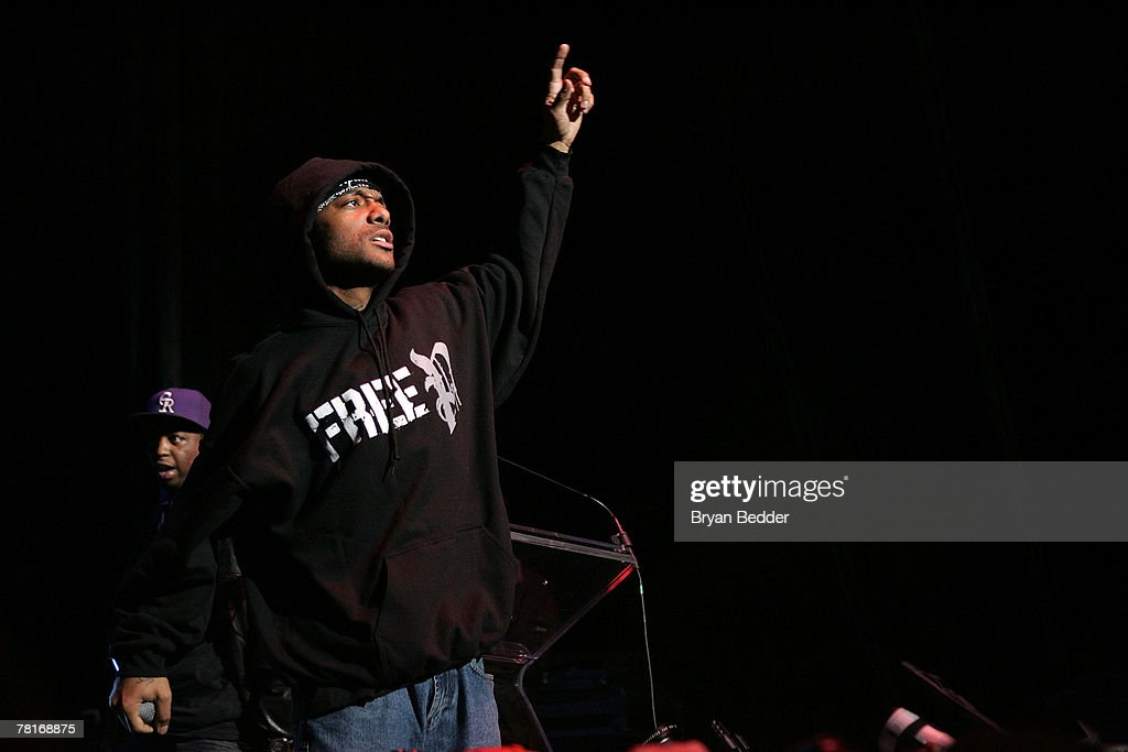 Prodigy of the group Mob Deep performs onstage at the 2007 J.A.M. awards and concert at Hammerstein Ballroom on November 29, 2007 in New York City.