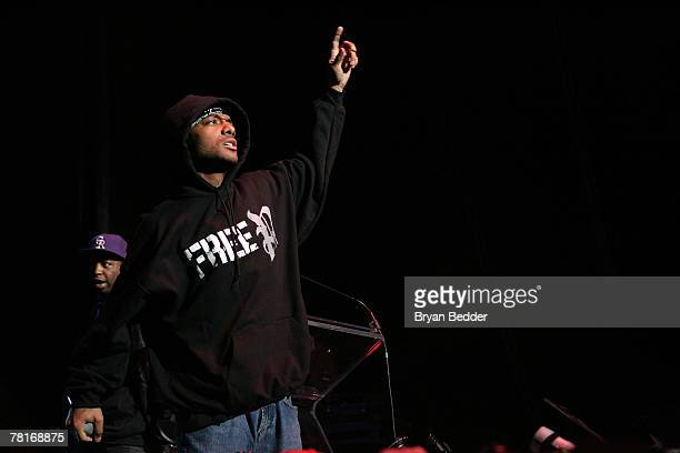 Prodigy of the group Mob Deep performs onstage at the 2007 JAM awards and concert at Hammerstein Ballroom on November 29 2007 in New York City
