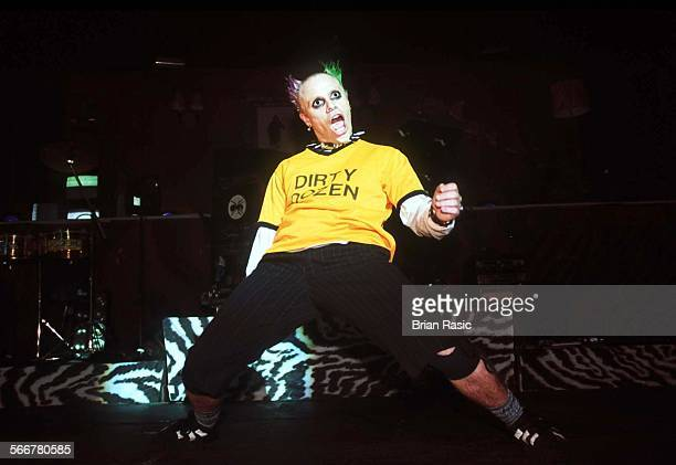Prodigy Performing At The Brixton Academy London Britain 1996 Prodigy