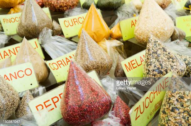 Produce at fruit and vegetable market in Campo de Fiori, Centro Storico.