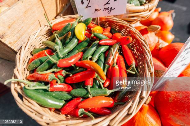 produce at market. - adelaide market stock pictures, royalty-free photos & images