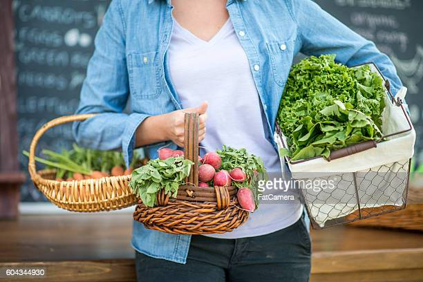 Produce at the Farmers' Market