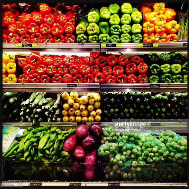 produce grocery store - fruit stock pictures, royalty-free photos & images