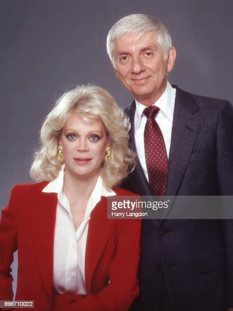 V Producer Aaron SpellingCandy Spelling pose for a portrait in 1983 in Los Angeles California