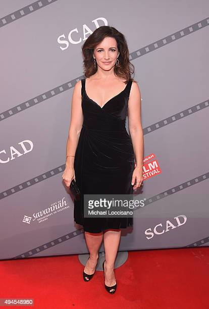 """Producer, Actress Kristin Davis attends a red carpet for """"Gardeners of Eden"""" at Trustees Theatre during the Day Four of 18th Annual Savannah Film..."""