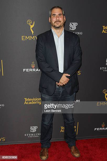 Producer Adam Siegel arrived at the Television Academy Hosts Reception For EmmyNominated Producers Arrivals at Montage Beverly Hills on September 15...