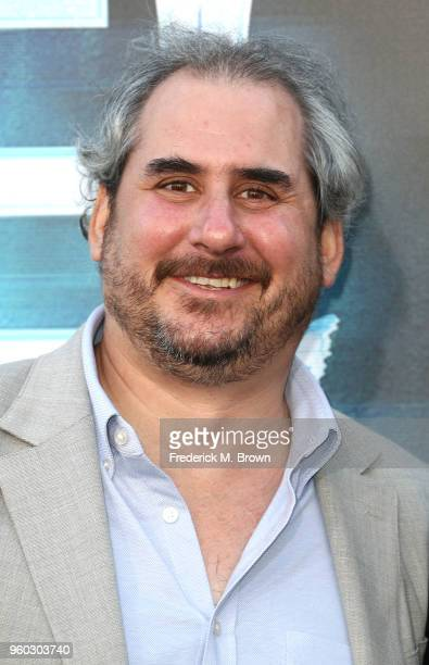 Producer Adam Siegel attend Global Road Entertainment's 'Hotel Artemis' Premiere at the Regency Village Theatre on May 19 2018 in Westwood California