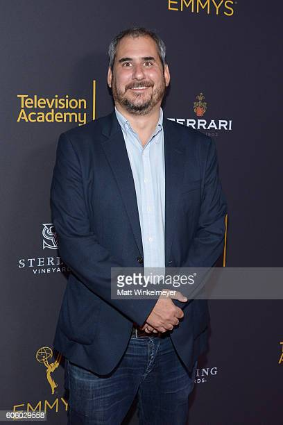 Producer Adam Siegel attends the Television Academy hosts reception for EmmyNominated producers at Montage Beverly Hills on September 15 2016 in...
