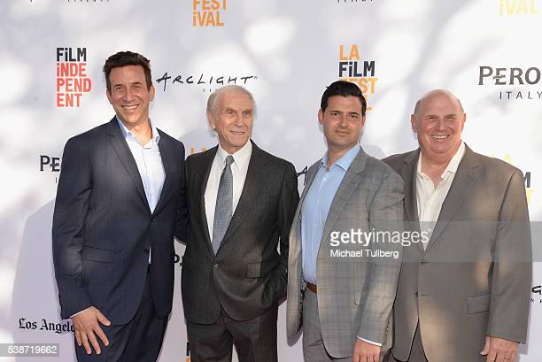 Producer Adam Tenenbaum and guests attend the premiere of So B It at the 2016 Los Angeles Film Festival at Arclight Cinemas Culver City on June 7...