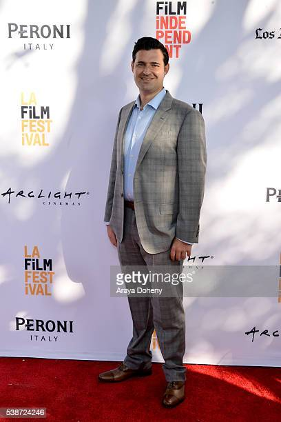 Producer Adam Tenenbaum attends the premiere of So B It during the 2016 Los Angeles Film Festival at Arclight Cinemas Culver City on June 7 2016 in...