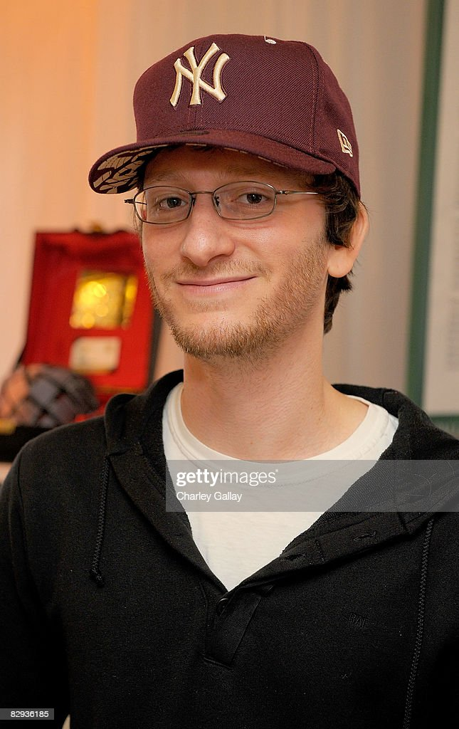 Producer Akiva Schaffer poses with the New Era Cap display during the HBO Luxury Lounge in honor of the 60th annual Primetime Emmy Awards featuring the In Style diamond suite, held at the Four Seasons Hotel on September 21, 2008 in Beverly Hills, California.