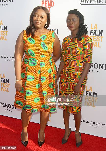 Producer Akofa Djankui and producer/writer/director Leila Djansi attend the opening night premiere of 'Lowriders' during the 2016 LA Film Festival at...