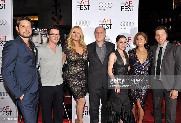 Producer Alan Polsky actor Shawn Hatosy actress Jennifer Coolidge director Werner Herzog actress Fairuza Balk actress Eva Mendes and producer Gabe...
