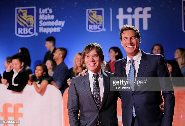 Producer Alan Siegel and Craig Flores attend the 2016 Toronto International Film Festival Premiere of 'The Headhunter's Calling' at Roy Thomson Hall...