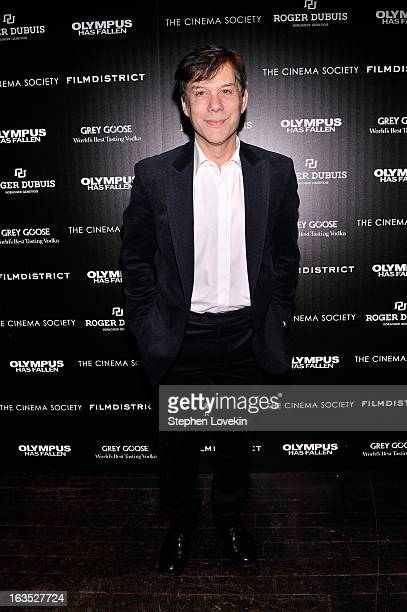 Producer Alan Siegel attends The Cinema Society with Roger Dubuis and Grey Goose screening of FilmDistrict's Olympus Has Fallen at Tribeca Grand...