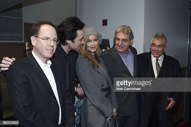Producer Albert Berger actors John Cusack and Connie Nielsen Director Harold Ramis and Producer Ron Yerxa attend the Focus Features premiere of The...