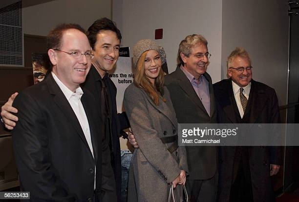 Producer Albert Berger stars John Cusack and Connie Nielsen Director Harold Ramis and Producer Ron Yerxa attend the premiere of Focus Features The...