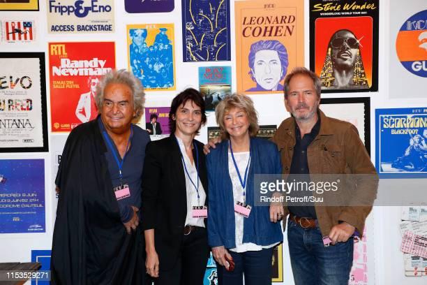 Producer Albert Koski, actress Geraldine Pailhas, Director Daniele Thompson and her son Christopher Thompson attend Albert Koski exposes its...