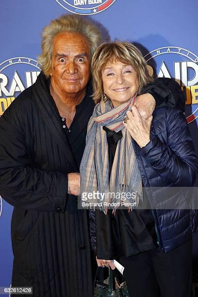"Producer Albert Koski and Scriptwriter Daniele Thomson attend ""Raid Dingue"" Paris Premiere at Cinema Pathe Beaugrenelle on January 24, 2017 in Paris,..."