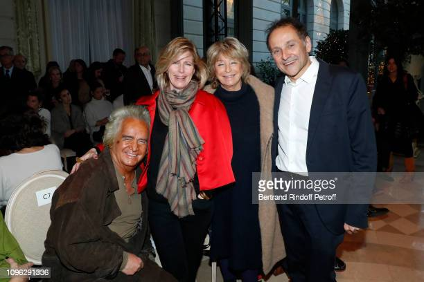 Producer Albert Koski Caroline Thompson Director Daniele Thompson and JeanPierre Weill attend the Weill Menswear Fall/Winter 20192020 show as part of...