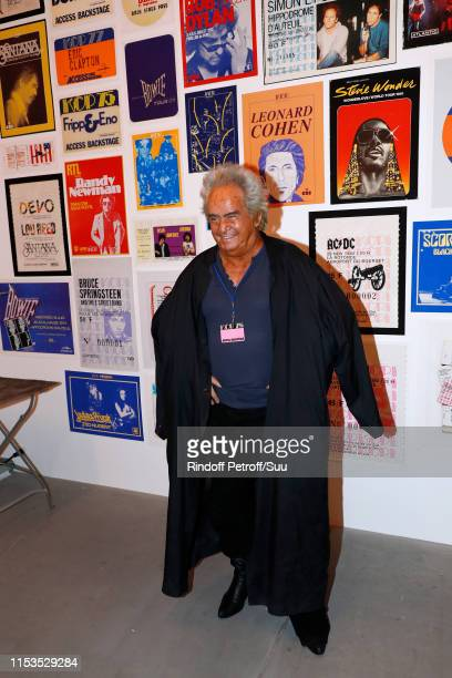 Producer Albert Koski exposes its Rock&Roll Posters Collection at Galerie Laurent Godin on June 03, 2019 in Paris, France.
