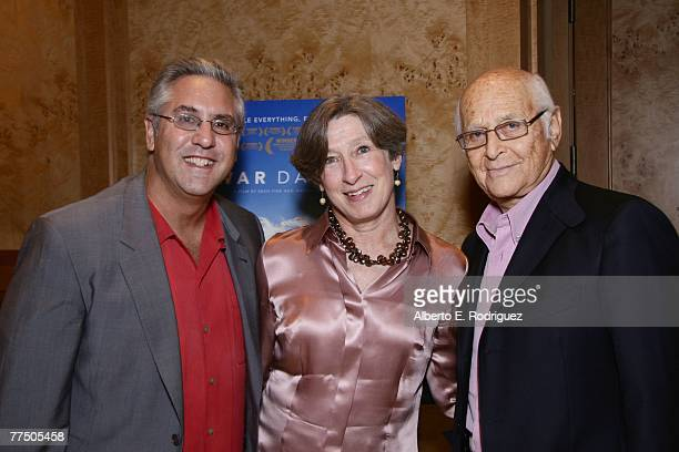 Producer Albie Hecht producer Susan MacLaury andproducer Norman Lear attend a special screening of THNKFilm's award winning documentary War/Dance...