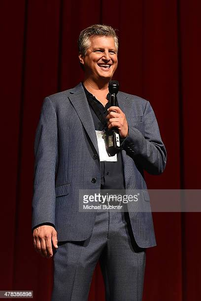 Producer Alec Pederson attends the world premiere of UNITY at the DGA Theater on June 24 2015 in Los Angeles California