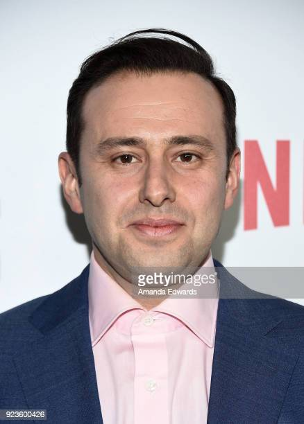 Producer Alex Reznik arrives at Netflix's 'Seven Seconds' Premiere at The Paley Center for Media on February 23 2018 in Beverly Hills California