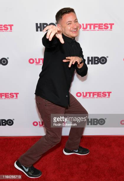 Producer Alex Schmider attends the Outfest Los Angeles LGBTQ Film Festival screening of Changing the Game centerpiece documentary at TCL Chinese 6...