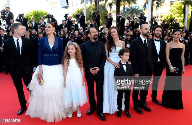 Producer Alexandre MalletGuy actresses Berenice Bejo and Jeanne Jestin director Asghar Farhadi actress Pauline Burlet actors Elyes Aguis Ali Mosaffa...