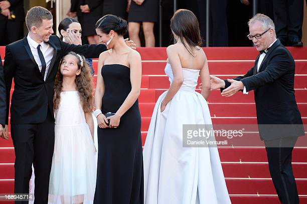 Producer Alexandre Mallet-Guy, actresses Jeanne Jestin, Sabrina Ouazani and Pauline Burlet and Cannes Film Festival artistic director Thierry Fremaux...