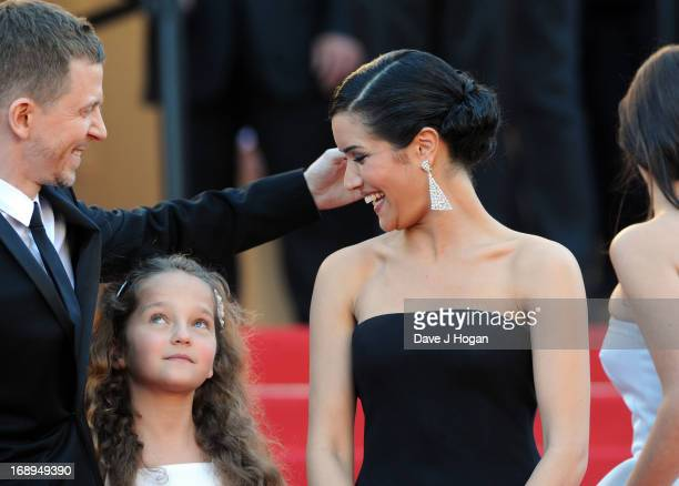 Producer Alexandre MalletGuy and actresses Jeanne Jestin and Sabrina Ouazani attend the Premiere of 'Le Passe' during The 66th Annual Cannes Film...