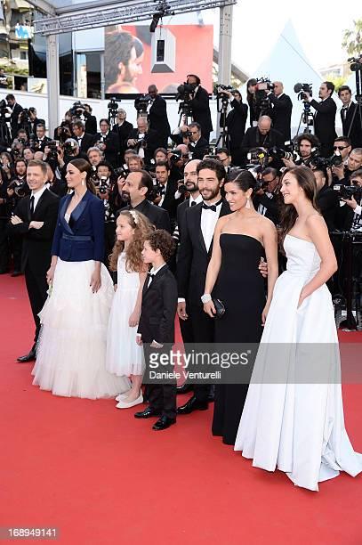 Producer Alexandre Mallet-Guy, Berenice Bejo, director Asghar Farhad, actors Jeanne Jestin, Elyes Aguis, Ali Mosaffa, Tahar Rahim, Sabrina Ouazani...