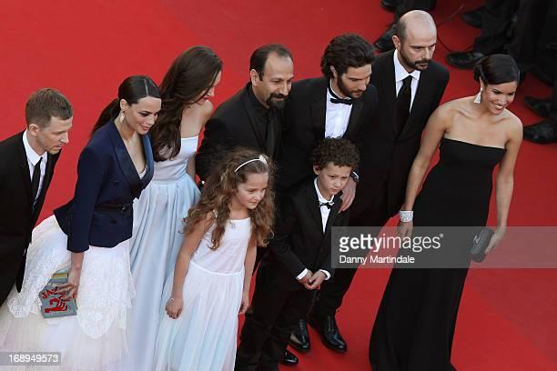 Producer Alexandre Mallet-Guy, Berenice Bejo, Pauline Burlet director Asghar Farhad, actors Jeanne Jestin, Elyes Aguis, Tahar Rahim, Ali Mosaffa and...