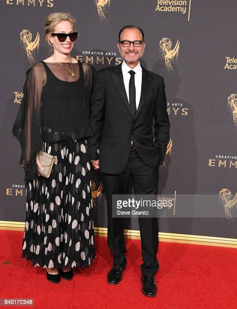 Producer Alexis BloomFisher Stevens arrives at the 2017 Creative Arts Emmy Awards Day 1 at Microsoft Theater on September 9 2017 in Los Angeles...