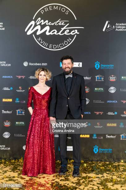 Producer Alfonso Blanco attends the Mestre Mateo Awards in A Coruna on March 07 2020 in A Coruna Spain