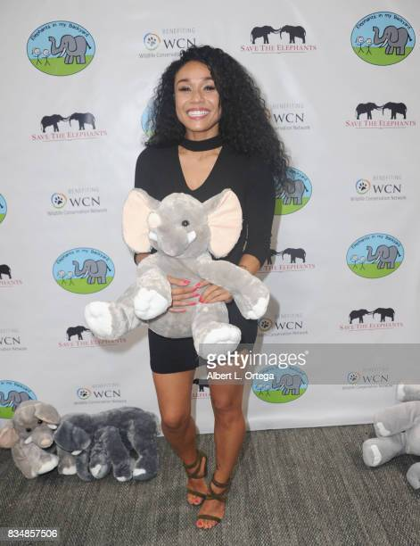 Producer Alia Kruz attends the Celebration for World Elephant Day Hosted By Elephants In My Backyard held at Trunk Club on August 12 2017 in Culver...