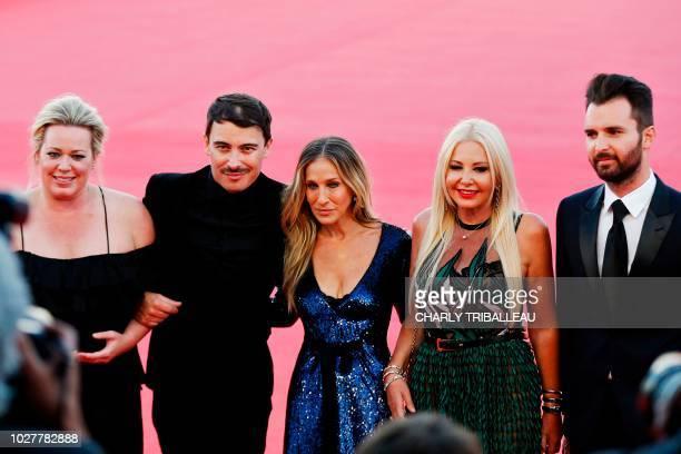 US producer Alison Benson French film director Fabien Constant US actress Sarah Jessica Parker Italian producers Monika Bacardi and Andrea Iervolino...
