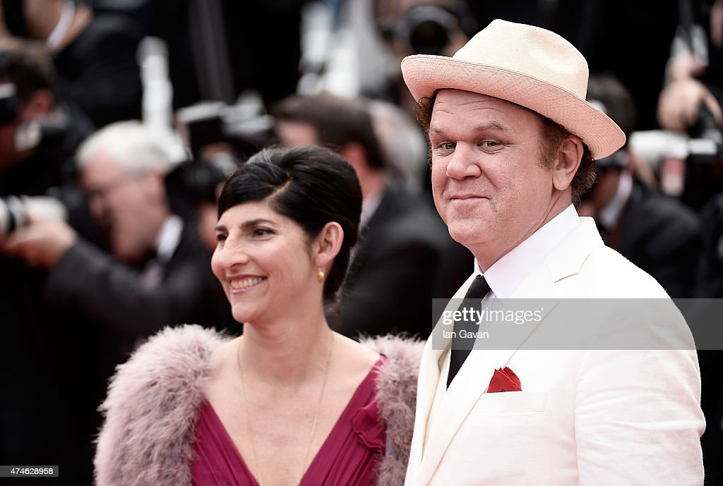 Producer Alison Dickey and actor John C. Reilly attend the closing ceremony and 'Le Glace Et Le Ciel' ('Ice And The Sky') Premiere during the 68th annual Cannes Film Festival on May 24, 2015 in Cannes, France.
