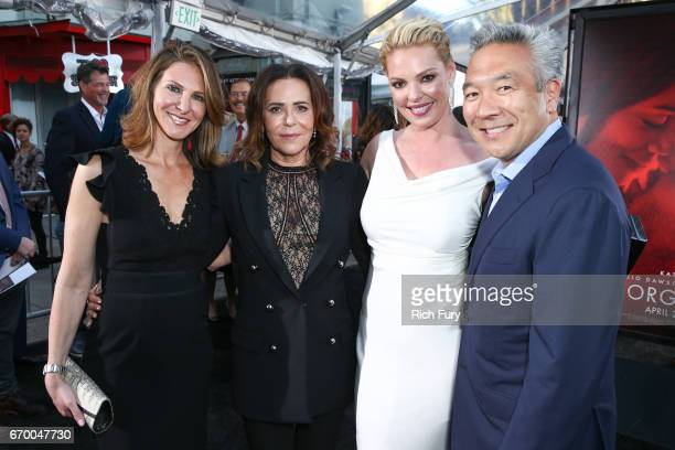 Producer Alison Greenspan director/producer Denise Di Novi actor Katherine Heigl and chairman and chief executive officer Warner Bros Kevin Tsujihara...
