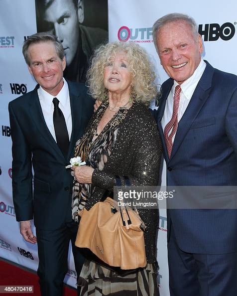 Producer Allan Glaser And Actors Connie Stevens And Tab