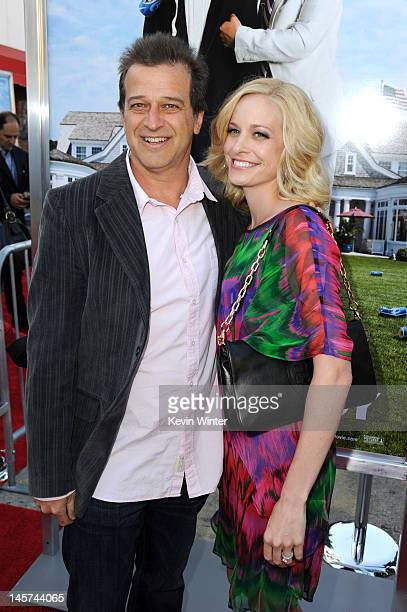 Producer Allen Covert and Kathryn Covert arrive at the premiere of Columbia Pictures' That's My Boy at Regency Village Theatre on June 4 2012 in...